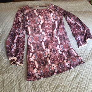 Project Alabama Dresses Burnout Cowl Neck Dress Poshmark